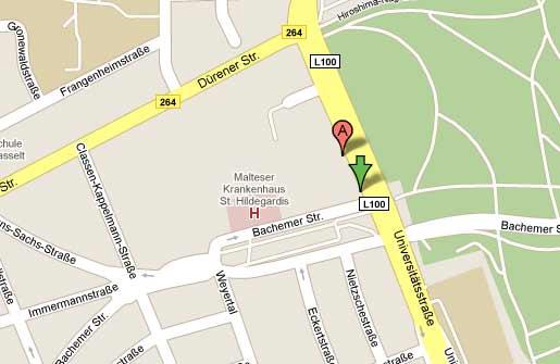 Google Maps - Hier klicken